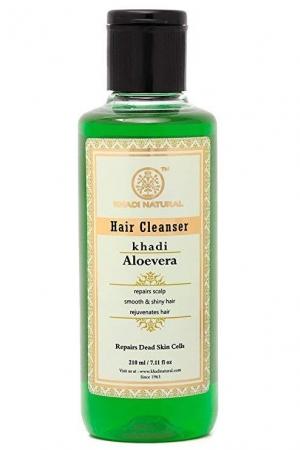 Шампунь Алоэ Вера (Aloevera Hair Cleanser) 210 мл Khadi (Кхади)