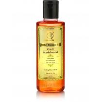 Массажное масло Сандал (Sandalwood Herbal Massage Oil) 210 мл Khadi (Кхади)