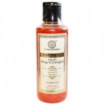 Гель для душа Апельсин и Лемонграсс (Orange & Lemongrass Citrus Herbal Body Wash) 210 мл Khadi