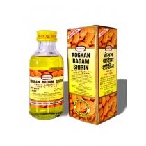 Миндальное масло Рогхан Бадам Ширин (Almond Oil Roghan Badam Shirin) 50+10 мл, Gangotri Herbals
