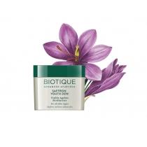 Крем для лица (Biotique Bio Saffron) с Шафраном дневной антивозрастной 50 г