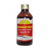 Сахачаради масло (Sahacharadi tailam) 200 мл  Nagarjuna (Нагарджуна)